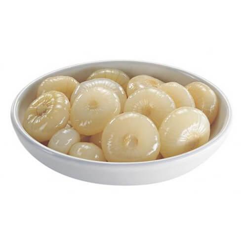 D01113 Γλυκόξινα λευκά κρεμμυδάκια ανοικτά