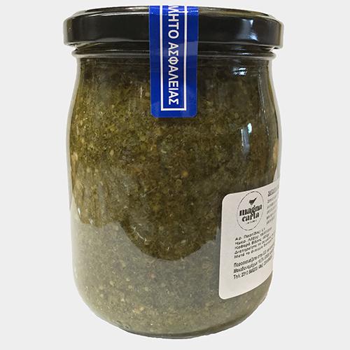MC017 Σάλτσα πράσινης μουστάρδας